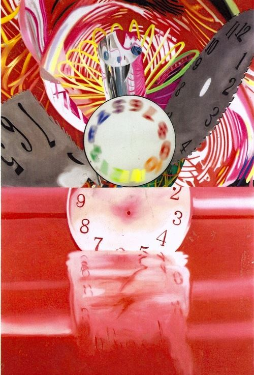 James Rosenquist was an American artist and one of the protagonists in the pop art movement. Drawing from his background working in sign painting, Rosenquist's pieces often explored the role of advertising.