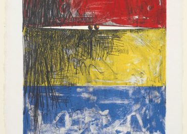 Jasper Johns Painting with Two Balls I, 1962