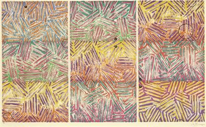 Jasper Johns is an American painter, sculptor and printmaker whose work is associated with abstract expressionism, Neo-Dada, and pop art. He is well known for his depictions of the American flag and other US-related topics.