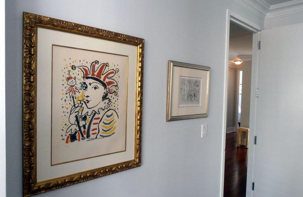 Pablo Picasso & Marc Chagall