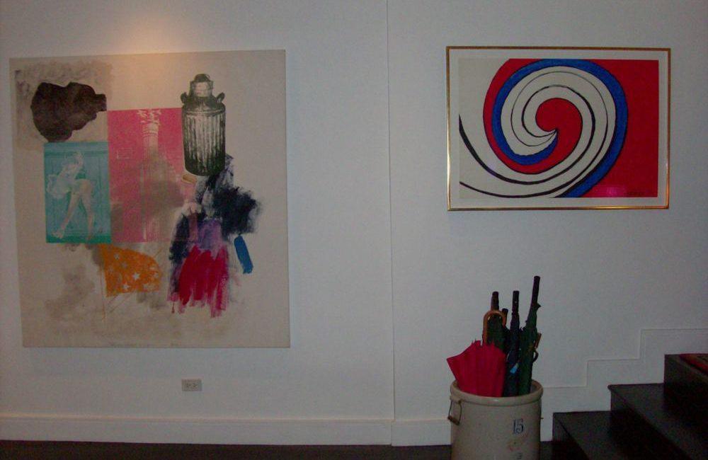 Robert Rauschenberg & Alexander Calder