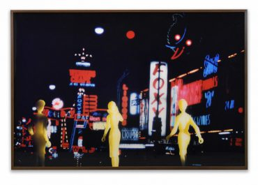 "Laurie Simmons 'Tourism; Las Vegas (Foxy, 2nd View)"" 1984"