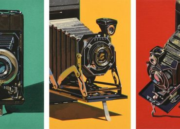 Robert Cottingham Three Cameras Woodcuts Set