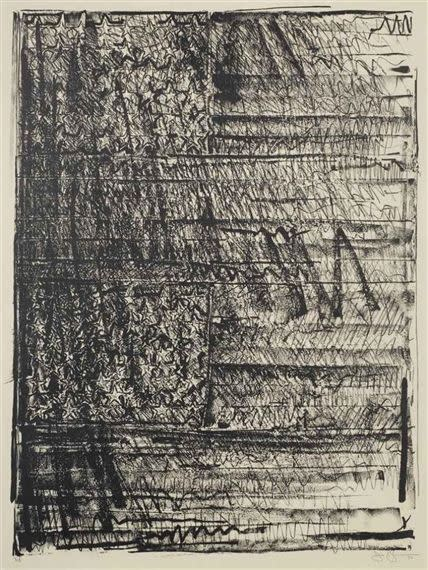 Jasper Johns Two Flags , 1980 Lithograph on Ivory Nishinouchi Kizuiki paper 47 x 35 inches, paper size 55 x 43.5 inches, framed edition 32/ 45