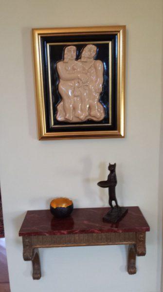Brush Leger Giacometti plaque