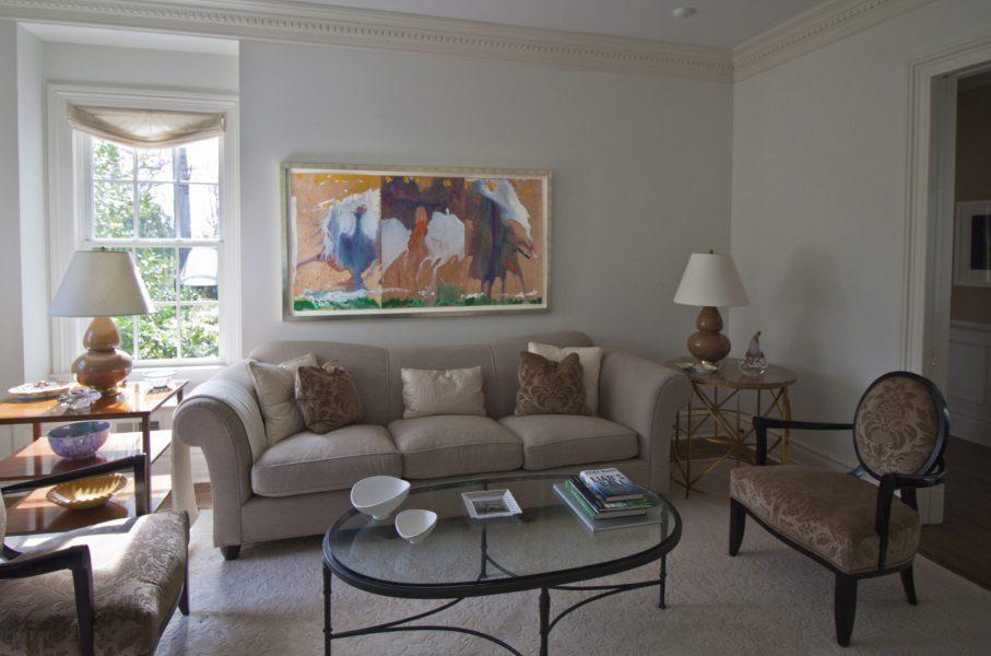 Frankenthaler living room
