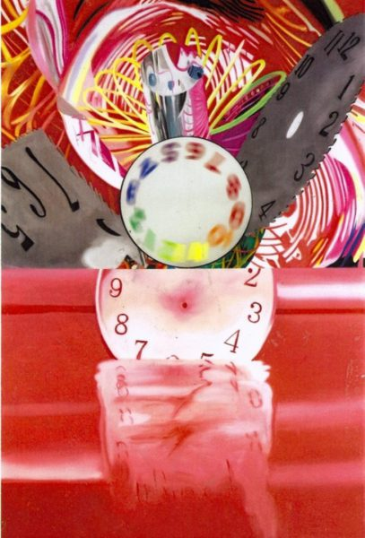 Rosenquist James, Time Stops but the Clock Disappears